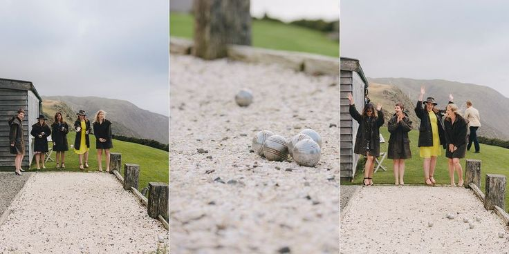 Petanque at the Lodge