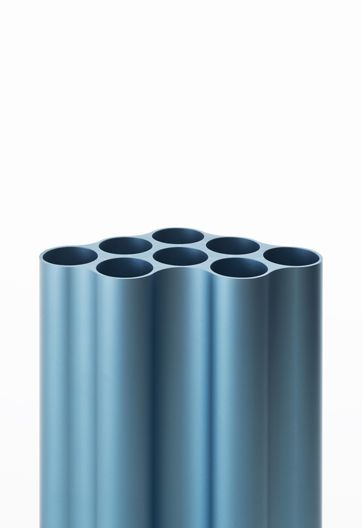 Tube, extrusion, blue, anodized, aluminium