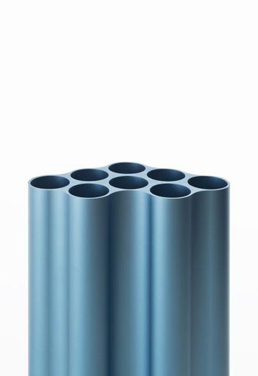 Tube, extrusion, blue, anodized, aluminium