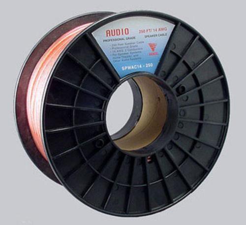 Vanco SPWAC14-250 Speaker Wire Oxygen Free, 14 AWG