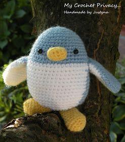 My Crochet Privacy ...: Wzór szydełkowy na Pingwinka Piccolo / Piccolo the Pinguin crochet pattern