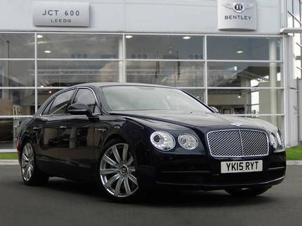 Used 2015 (15 reg) Dark Sapphire Blue Bentley Flying Spur 4.0 V8 4dr Auto for sale on RAC Cars