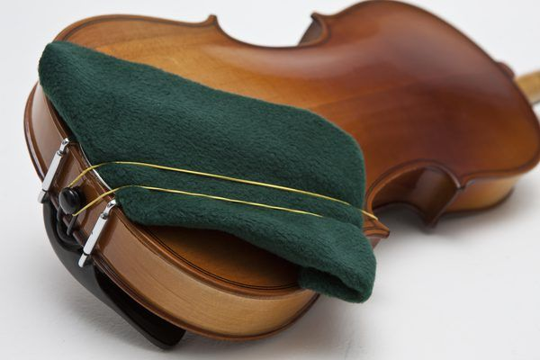 Although some noted music schools such as Juilliard discourage the use of shoulder rests, most violinist prefer to have some sort of support for their instrument. You can purchase a violin shoulder rest at nearly any music store, but there are also plenty of ways to make your own. The homemade ones are sometimes even more comfortable than the...