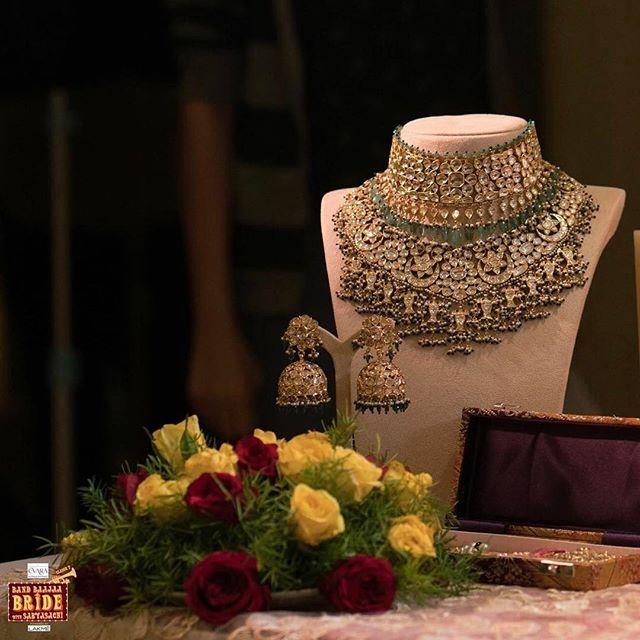 Handcrafted Heritage Jewels by #KishandasForSabyasachi.  #Sabyasachi #Bridal #BBB7 #Jewels #Jewellery @sabyasachiofficial @ndtvgoodtimes
