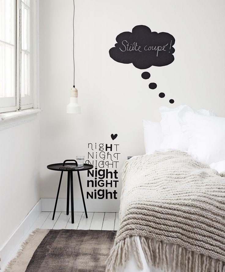 vtwonen muurstickers | bedroom | slaapkamer | via @vtwonen