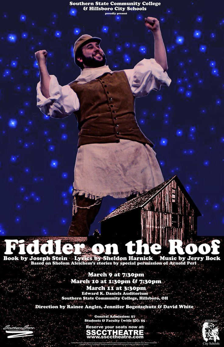 Fiddler on the Roof (March 9 11, 2007) Fiddler on the