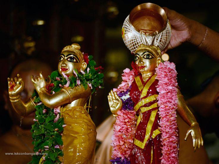 Radhashtami Radha Krishna Abhisheka