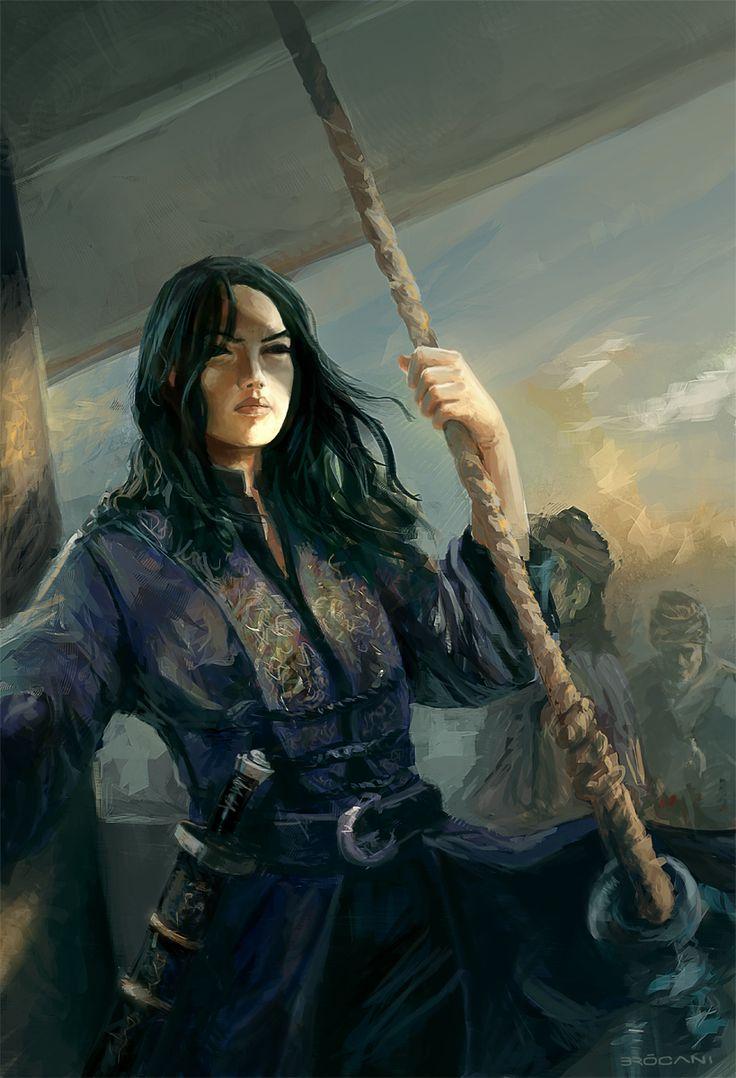 Captain Kyra | Pirate Island by Giuliani Brocani