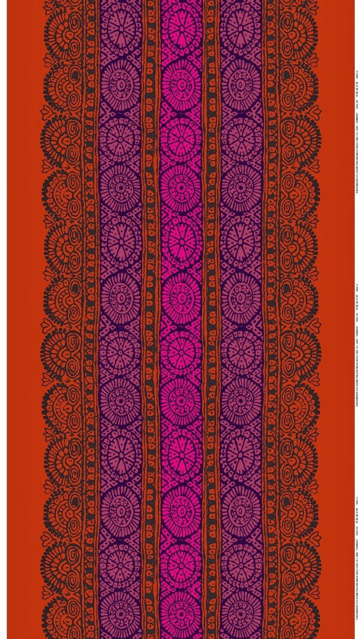 """""""Dombra"""" fabric from Marimekko autumn/winter 2013"""