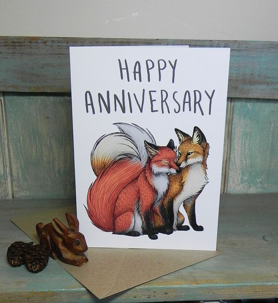 Hey, I found this really awesome Etsy listing at https://www.etsy.com/listing/200197332/fox-couple-illustration-happy