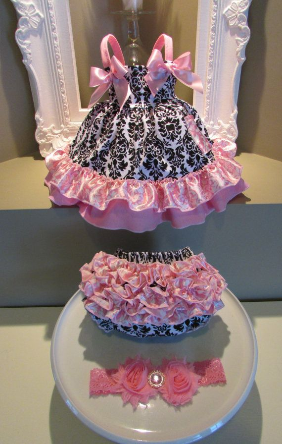 Swing Top & Bloomers Set (baby clothes, baby outfit, baby bloomer set, baby shirt, baby top, baby outfit)