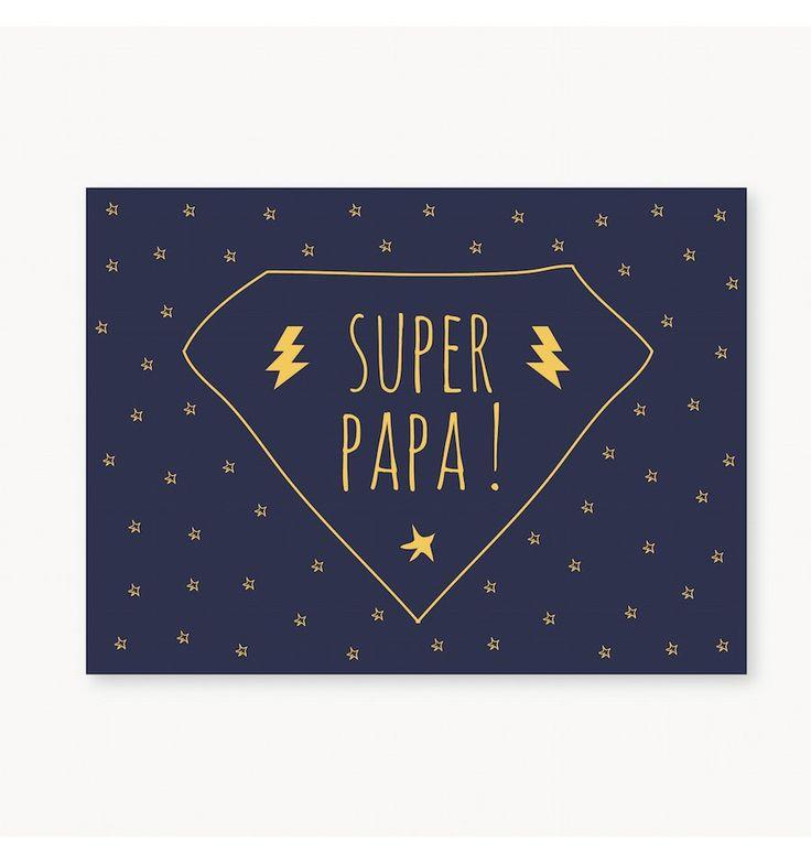 Mini Carte Super Papa - Le souci du détail