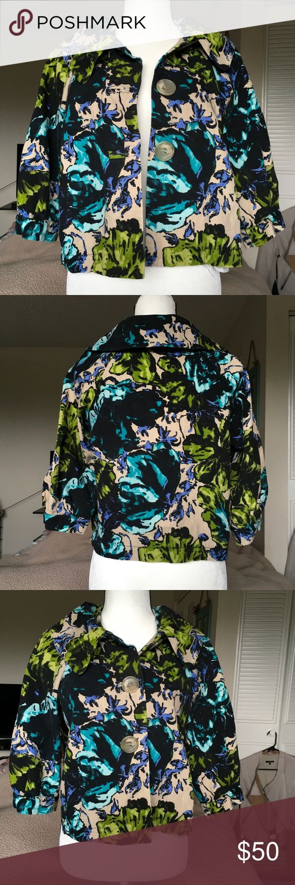 Bolero Jacket Bolero jacket in excellent used condition. Made in Italy by Katia G. (Italian clothing brand). Size is Italian 42 or US 6-8. Open to trades and offers. Tagged as Marc Jacobs for exposure. Marc By Marc Jacobs Jackets & Coats