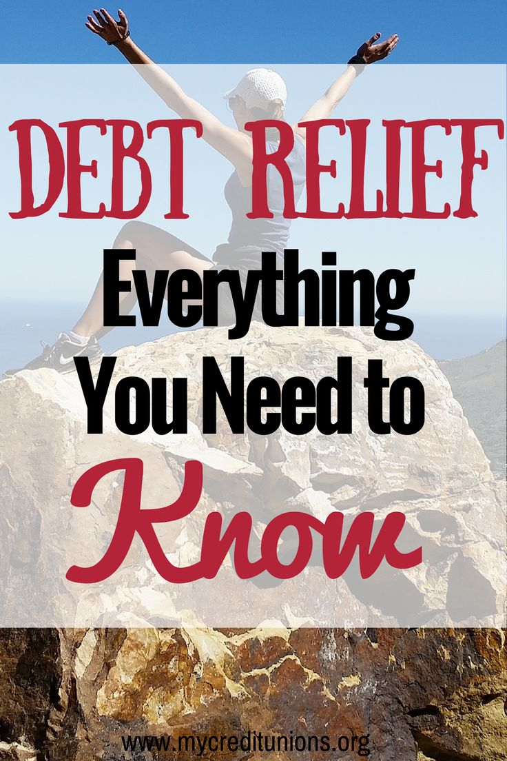 There are five types of debt relief programs. They are a Debt Consolidation Loan, Balance Transfer, Debt Management Plan, Debt Negotiation (or debt settlement) and Bankruptcy.