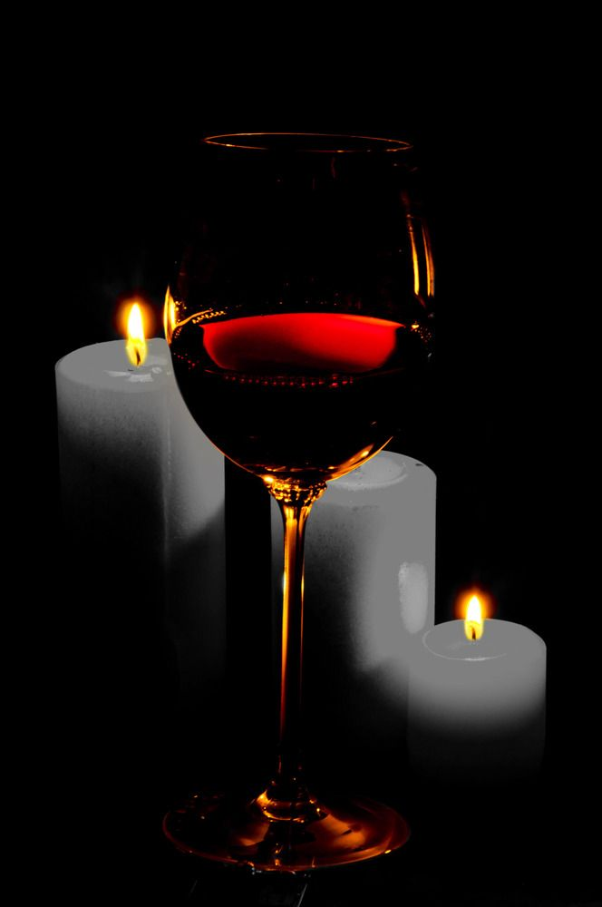 *Wine by candlelight