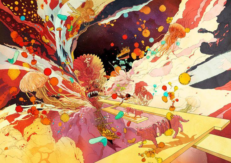 kudamono790   30 Painfully Talented Artists You Should Follow On Pixiv
