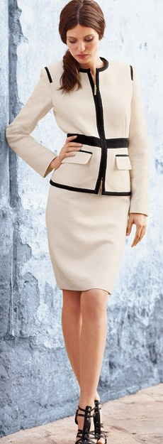 suited style ♥✤ | Keep the Glamour | BeStayBeautiful