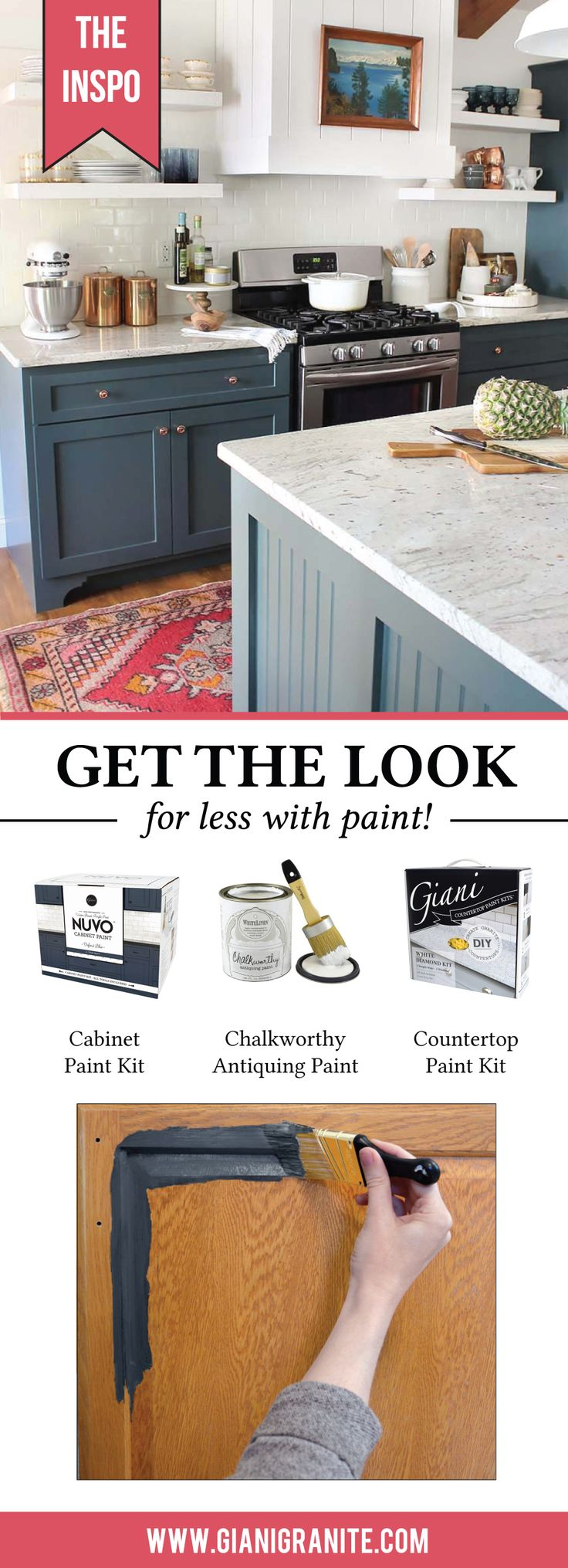 The 25+ best Nuvo cabinet paint ideas on Pinterest | Giani granite ...