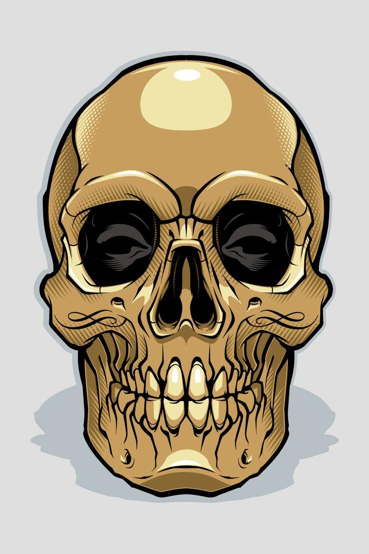 картинки золотого черепа смеются над забором
