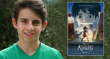 Moises Arias – The Secret World of Arrietty