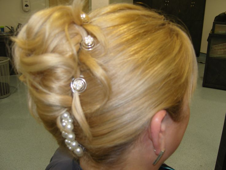 French Pleat Updo Wedding Invites Pinterest Updo And