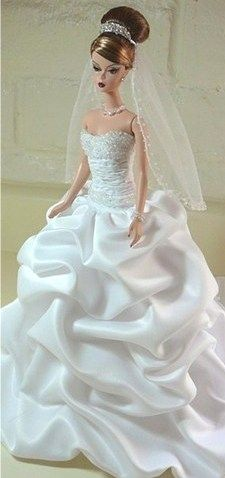 Silkstone barbie bride