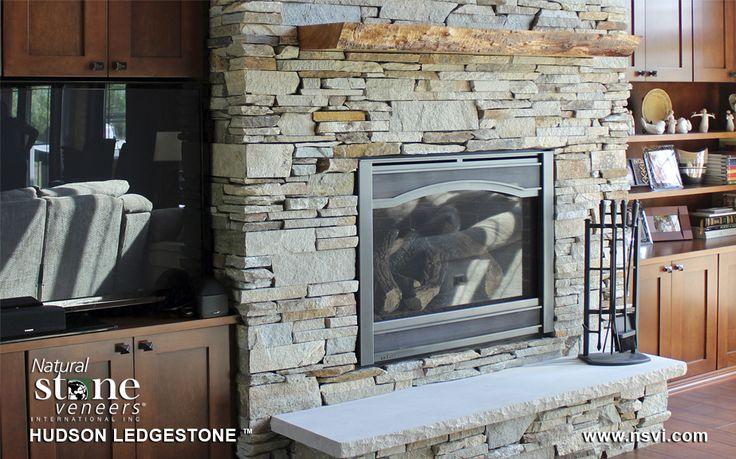 Ledgestone Fireplace Are Fascinating Option : ledgestone fireplace fireplace rock fireplace walls fireplace ...