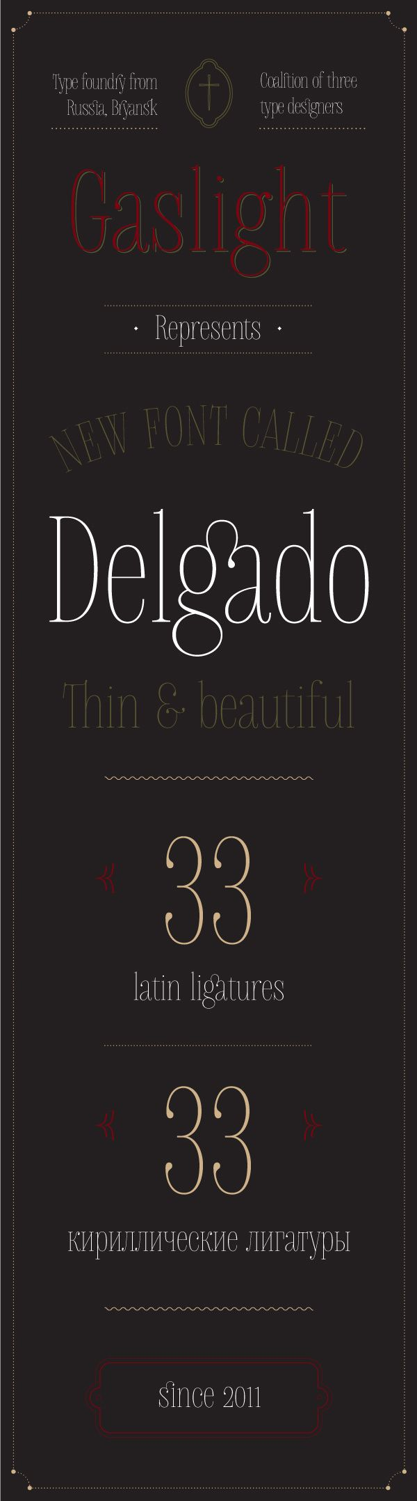 Delgado font on Typography Served #font #serif #design #ligatures #type #beauty