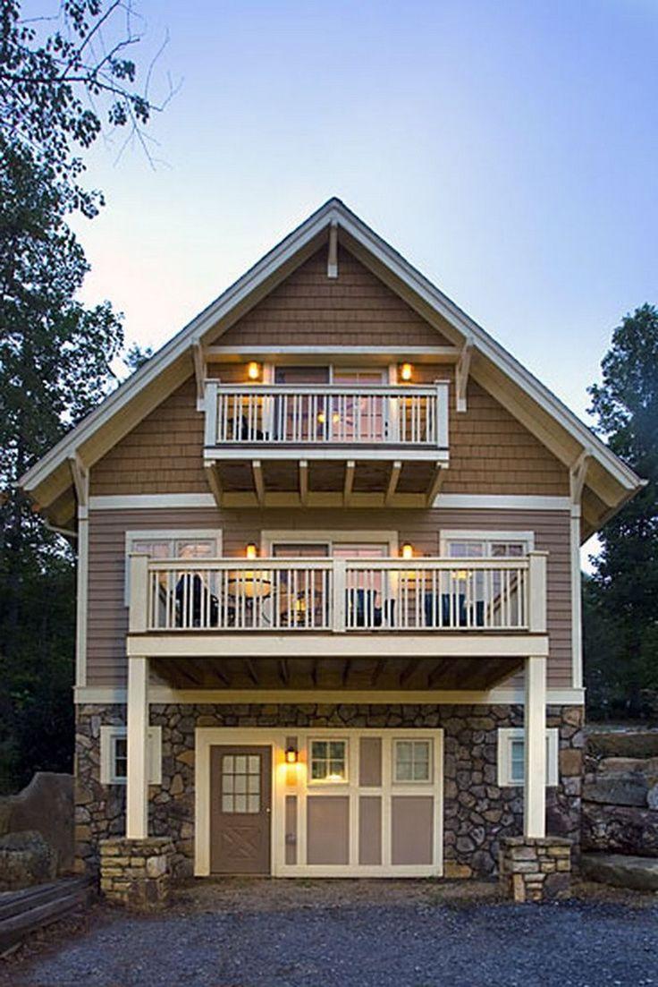 92 Stunning Second Floor Balcony Architecture Ideas