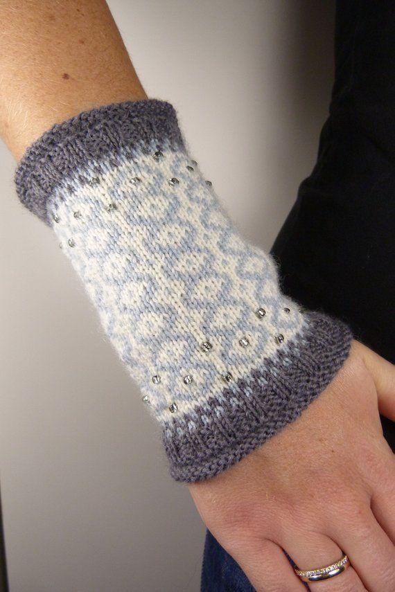 TREND 2019 Fingerlose Handschuhe Handstulpen Pulswärmer Stulpen warme Damen Kind