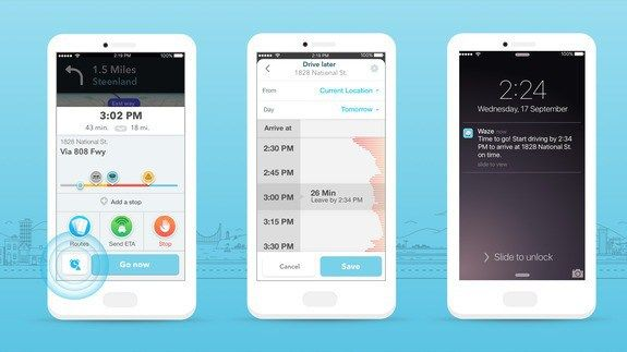 Waze update will predict traffic conditions before you leave http://ift.tt/21whgKc  Waze is putting its traffic-predicting superpowers to good use  The Google-owned app is adding a new feature called planned drives which makes it easier to plan trips based on the traffic conditions youre likely to encounter. The update will also help automatically plan routes based on your schedule.  See also: Morgan Freemans smooth voice is now on Waze  The feature which is rolling out to iOS Wednesday and…