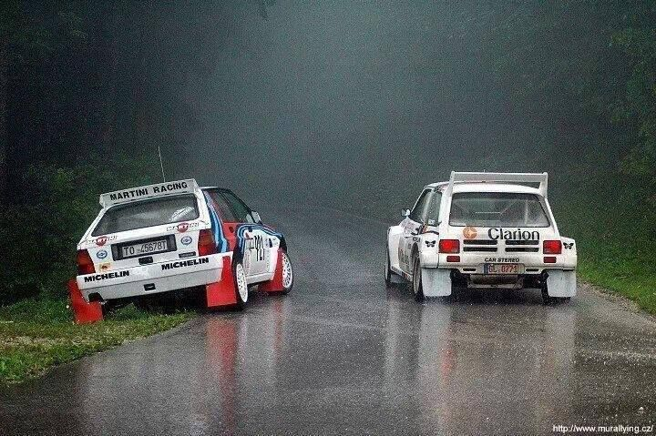ra Lancia Delta HF Integrale & Metro 6R4