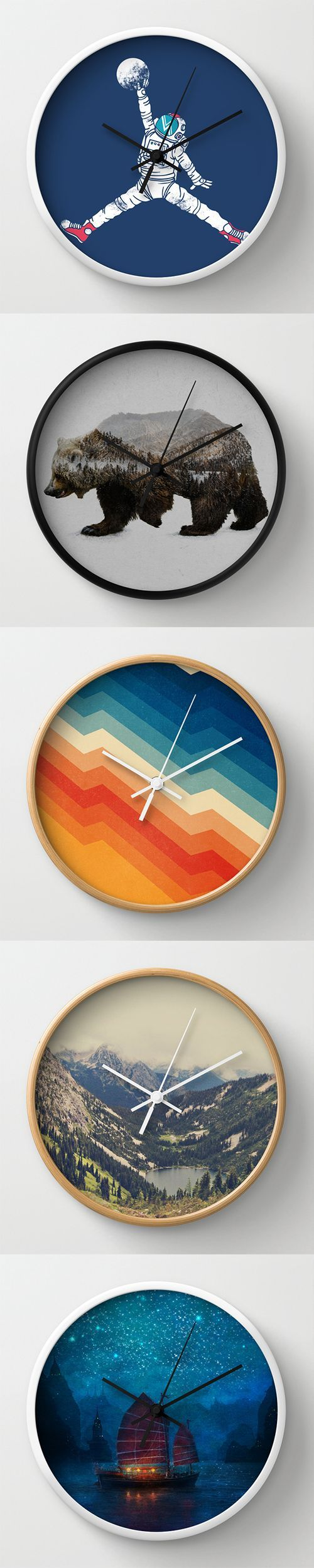 590 best clocks images on pinterest mirrors wood and frames wall clocks and millions of other products available atsociety6 today every purchase supports amipublicfo Images