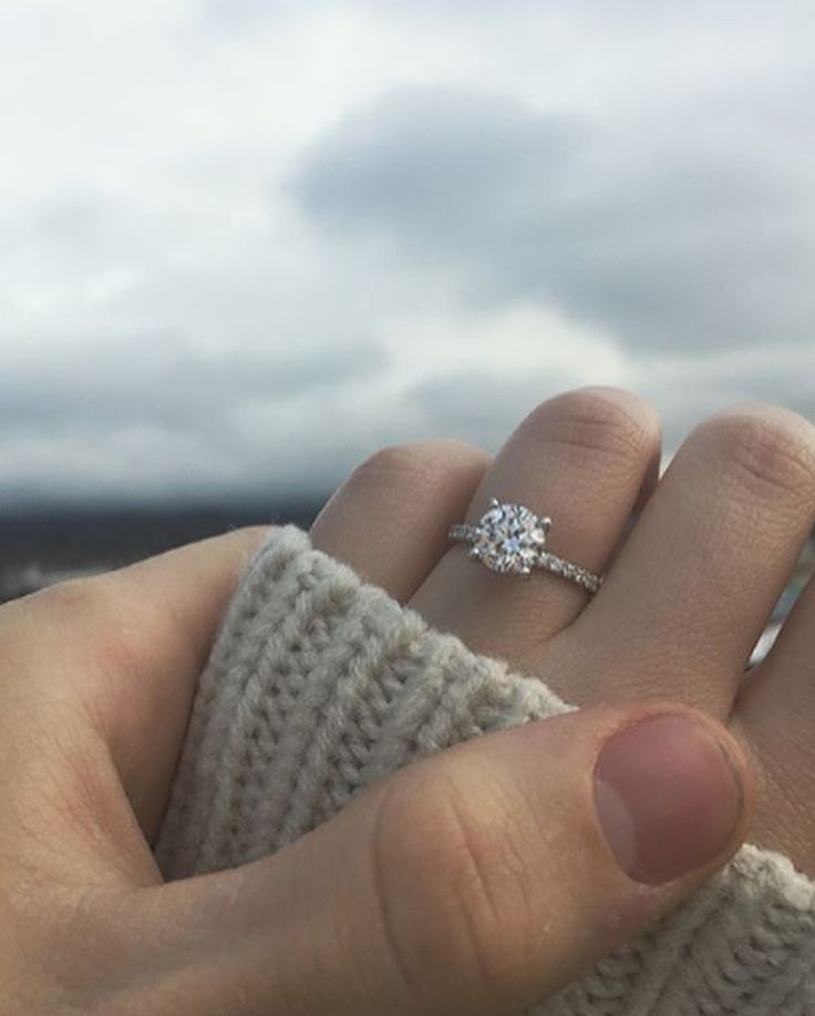 Congratulations, Emily + Dan! Custom Designed Engagement Ring influenced by the Hayley Engagement Ring