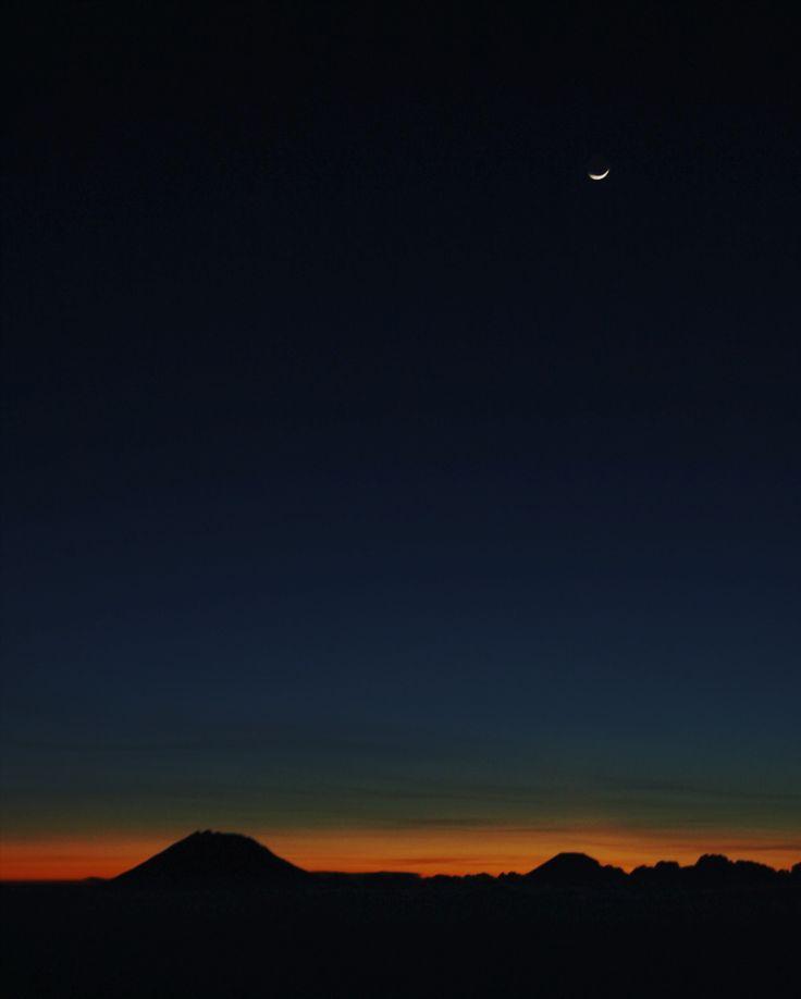 Mt. Merbabu.