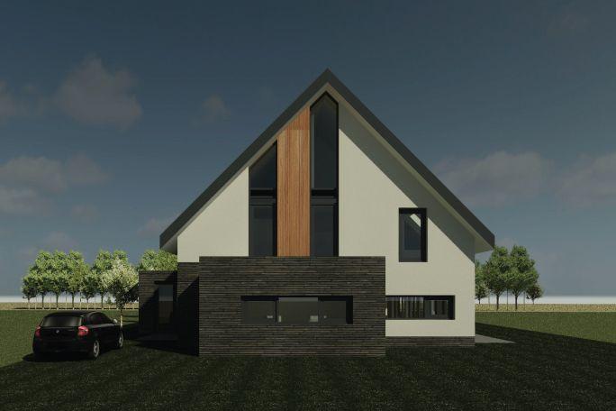 Nieuwbouwwoning Gerner Marke   Ontwerp van AL architecten BNA voor een nieuw te bouwen vrijstaande woning in Plan De Gerner Marke, Dalfsen.