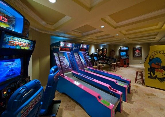 game room design ideas 77. interesting ideas arcade room kind of like needs hardwood floors and tvu0027s with throughout game room design ideas 77