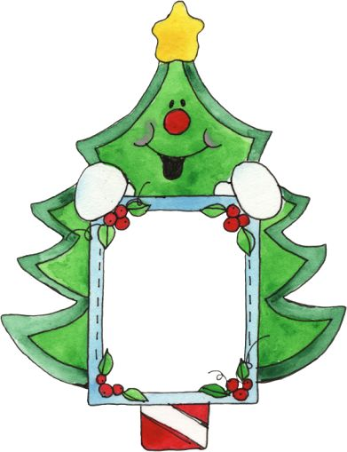 Christmas tree frame
