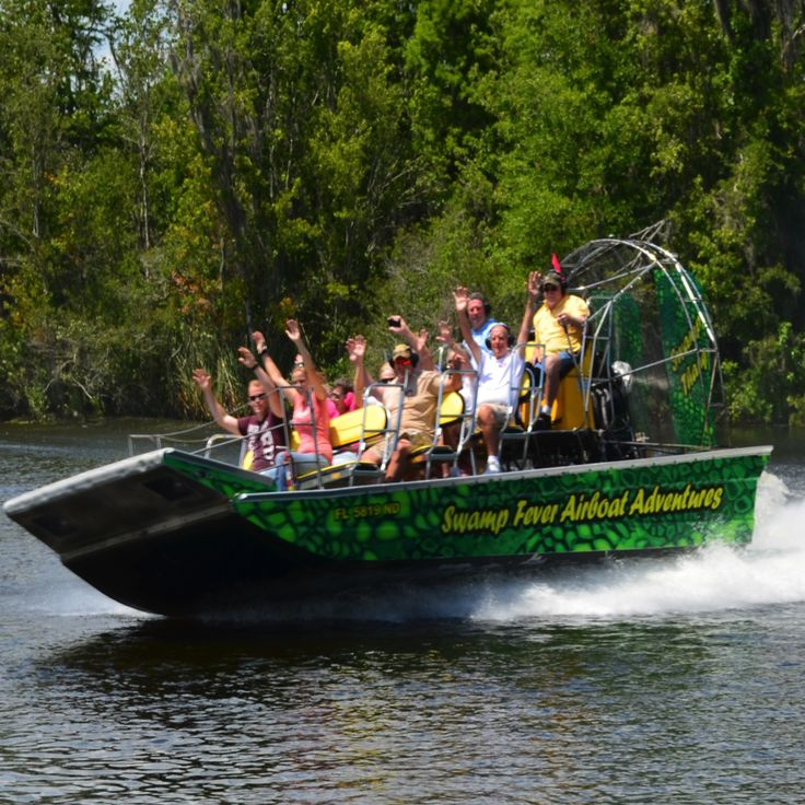 Florida Airboat Tours, Swamp Tours near Orlando and Tampa