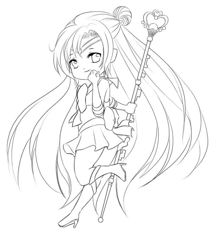 The 31 best chibi images on Pinterest | Colouring pages, Adult ...