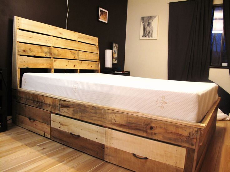 Bedroom Furniture Made Out Of Pallets
