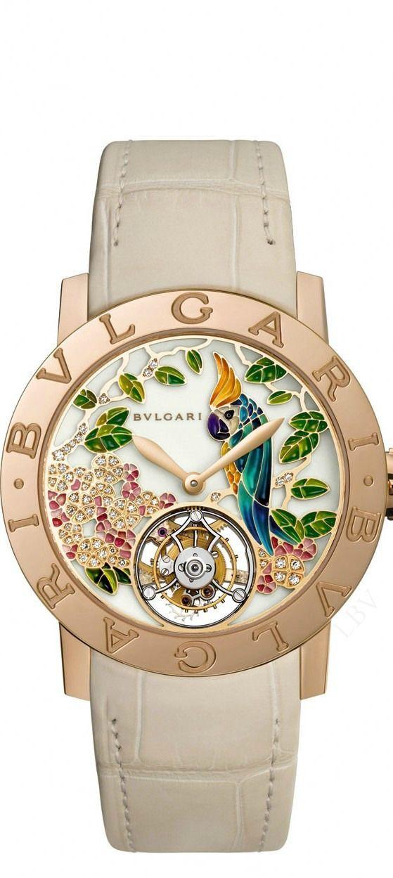 Una joya este Reloj de Bulgari que será lo único que adornarán nuestras muñecas 💙💥💫💥💙💎💎💎