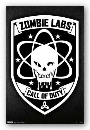 22x34 call of duty black ops zombie labs video game poster print - Black Ops Zombies Coloring Pages
