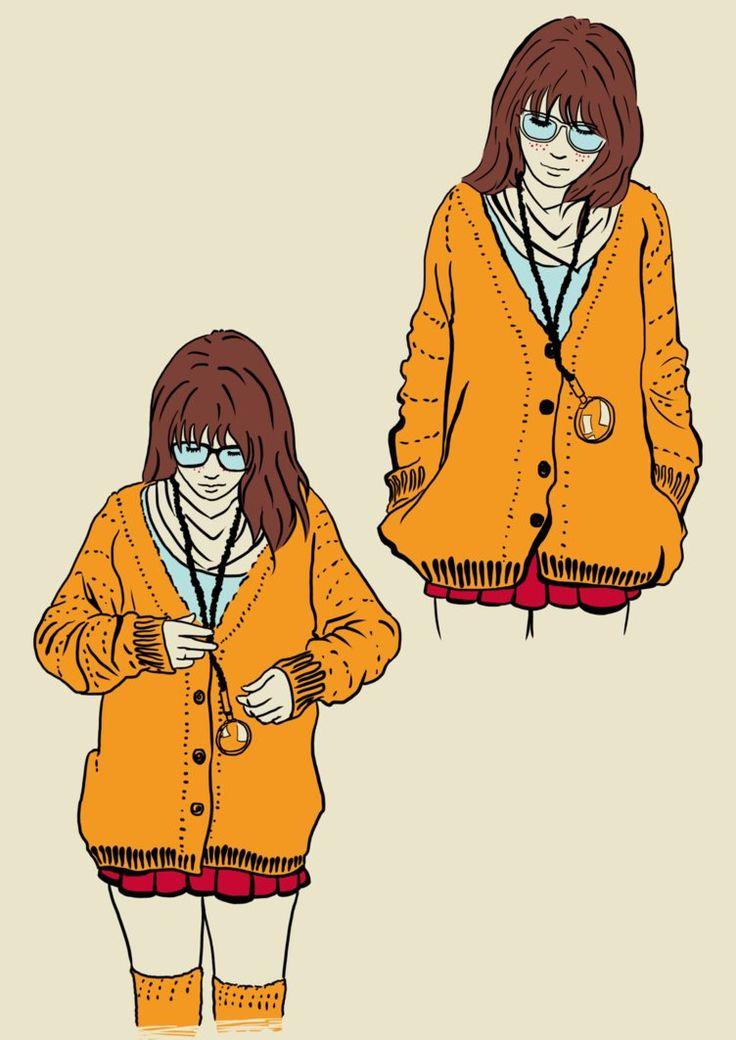 Hipster Velma by ~Mickken on deviantART