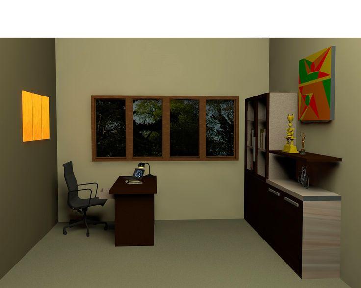 """Office Room yang kami hadirkan dalam nuansa yang hangat dan elegant sehingga dapat membuat nyaman penggunanya."""""""