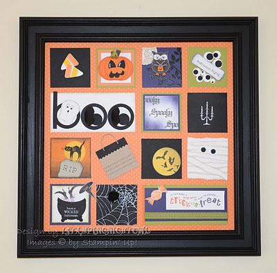 anja beckman stampin up - Stampin Up Halloween Ideas