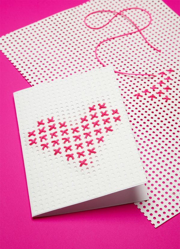 Cross Stitch Heart,Heart Crafts for Teens , Fun and Easy stitchedHearts for Sweethearts, love, heart, pink, color, crafts, teen, cross stitch , pattern