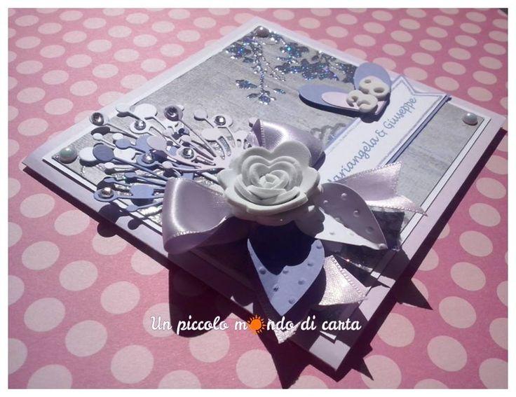#scrapbookingcard #wedding #unpiccolomondodicarta