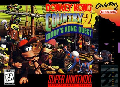 Donkey Kong Country 2: Diddy's Kong Quest - Another excellent entry into the DKC platforming arena