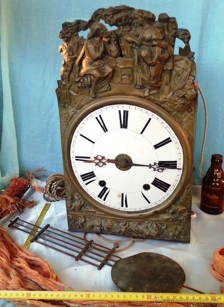 Antiguo reloj de pared centenario para decoraci n para restaurar relojes en todocoleccion - Relojes de decoracion ...